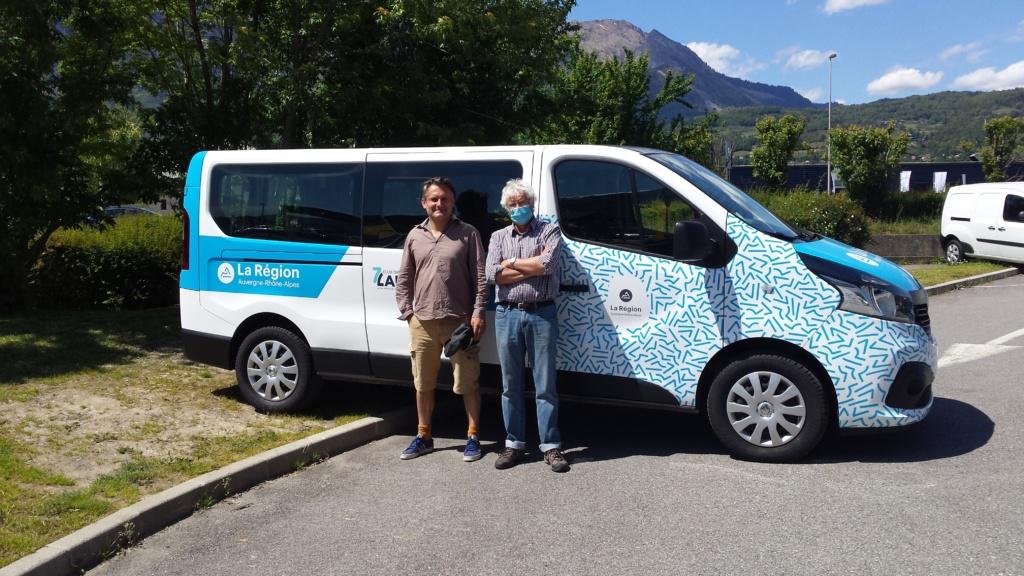 Le nouveau minibus
